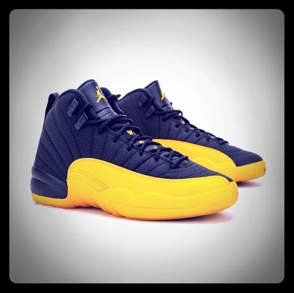 Jordan Shoes | Blue And Yellow Jordans